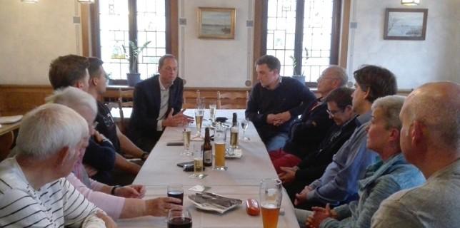 CDU Steinhude im Gespräch mit Hoppenstedt und Lechner